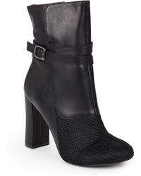 Nicole Miller Artelier - Jackie 2 Calf Hair & Leather Boots - Lyst