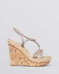 Elie Tahari - Platform Wedge Espadrille Sandals Absinthe - Lyst