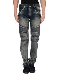Balmain Denim Pants - Blue