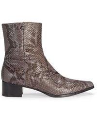 JOSEPH Python Cowboy Boot - Multicolour