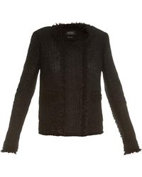 Isabel Marant Henrick Cotton-Blend Jacket - Lyst