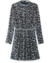 Tory Burch Blue Torrence Dress - Lyst
