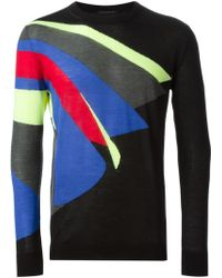 Christopher Kane Pages Intarsia Jumper - Lyst