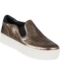Ash Jungle Slip-On Sneaker Bronze Leather - Lyst