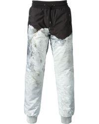 Moncler Mountain Print Trousers - Lyst