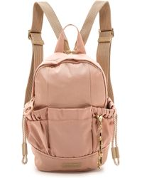 See By Chloé Damia Zipped Backpack - Nougat - Lyst