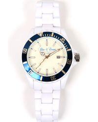 Blue & Cream - Classic Timepiece - Lyst