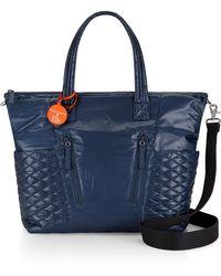 Rebecca Minkoff Bowie Baby Bag blue - Lyst