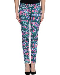 Kenzo Casual Trouser - Lyst