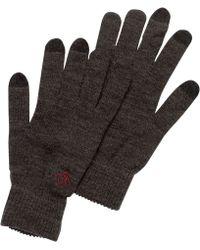 Original Penguin - Smart Touch Merino Wool Gloves - Lyst