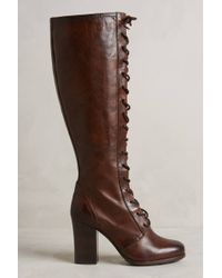 Frye Parker Tall Lace-up Boots - Lyst