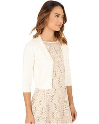 RSVP - Bre Shrug With Pearls - Lyst