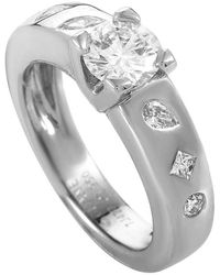 Chanel Diamond Platinum Engagement Ring - Metallic