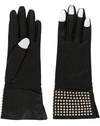 Yohji Yamamoto 2000s Leather Gloves - Black