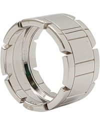 Cartier 'tank Francaise' Gold Ring - White