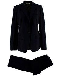 Dolce & Gabbana Martini Two Piece Suit - Size Us10 - Black