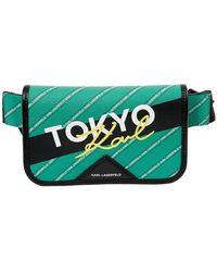 Karl Lagerfeld Kar Lagerfeld Tokyo Belt Bag - Green