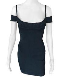 Alaïa - Azzedine Alaia S/s 1992 Vintage Off Shoulder Bodycon Dress - Lyst