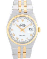 Rolex Oysterquartz Datejust 2-tone Men's Watch 17013 - Metallic