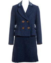 Vivienne Westwood Tweed Skirt Suit, Fw 1994 - Blue