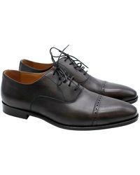 Balmain Leather Men's Derbies 44 - Black