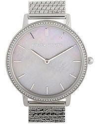 Rebecca Minkoff - Major Silver-tone Watch 2200367 - Lyst