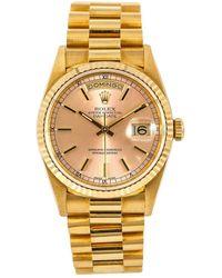 Rolex - Day-date 18238, Dial, Certified Nd Warranty - Lyst