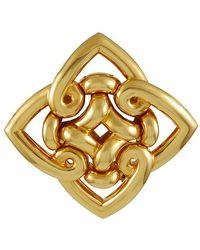 BVLGARI Bulgari Gold Brooch Pin - Metallic