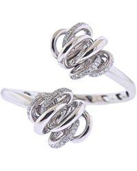 De Grisogono Vortice Gold Diamond Bracelet - White