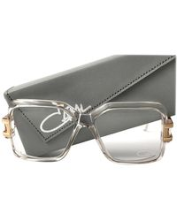Cazal Vintage 623 65 Translucent West Germany Collectors Item 1980 Sunglasses - Gray