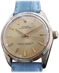 Rolex - Men's Oyster Perpetual Ref.1002 14k Gold Automatic, Circa 1970s Ra151blu - Lyst
