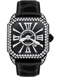 Backes & Strauss Berkeley Diamond Knight 43 Berkeley 40 Luxury Diamond Watch For Men And Women - Multicolor
