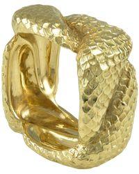 Tiffany & Co. Gold Serpent Ring - Metallic