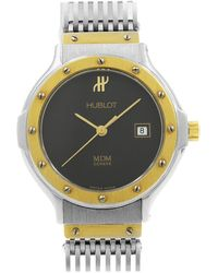 Hublot Classic Mdm, 18 Carat Gold, Diamond, Quartz 1520.3.054 - Yellow