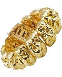 David Webb Gold Nugget Bracelet - Yellow
