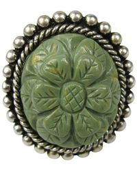 Stephen Dweck - Sterling Silver Floral Carved Ring 1992 New, Never Worn - Lyst