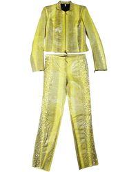 Roberto Cavalli Python Suit - Natural