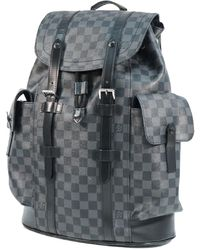 Louis Vuitton Backpack Christopher Pm Mens Ruck Sack Daypack N41379 - Black