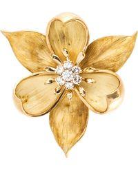 Tiffany & Co. Flower Pin - Metallic