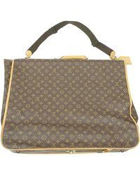 Louis Vuitton Monogram Garment Bag Luggage - Brown