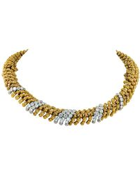 David Webb Diamond Necklace/bracelets - Metallic