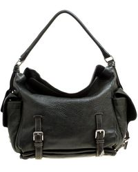 Dolce & Gabbana Mossy Leather Miss Forever Hobo - Green