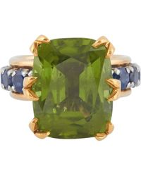 Tiffany & Co. - Schlumberger Peridot Ring - Lyst