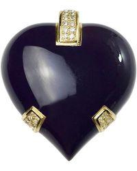Dior Vintage Heart Brooch - Multicolor