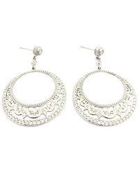 Penny Preville Ladies Diamond Earring E1215w - Metallic