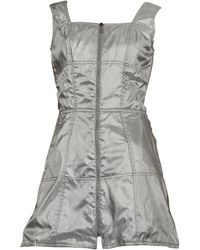 Thierry Mugler - Vintage Quilted Space Age Futuristic Dress - Lyst