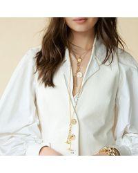 Monica Rich Kosann 18 Karat Gold, Add Your Own Charms, Large Belcher Chain Necklace - Yellow