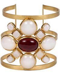 Chanel Poured Glass Arm Cuff - Metallic