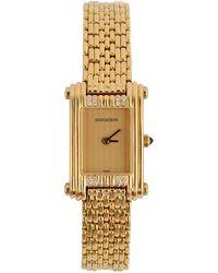 Boucheron Ladies Gold Dress Wristwatch - Yellow