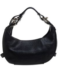 Givenchy Leather Hobo - Black